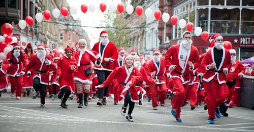 The Big Leeds Santa Dash 2020
