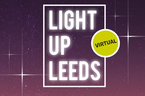 Virtual Light Up Leeds Walk