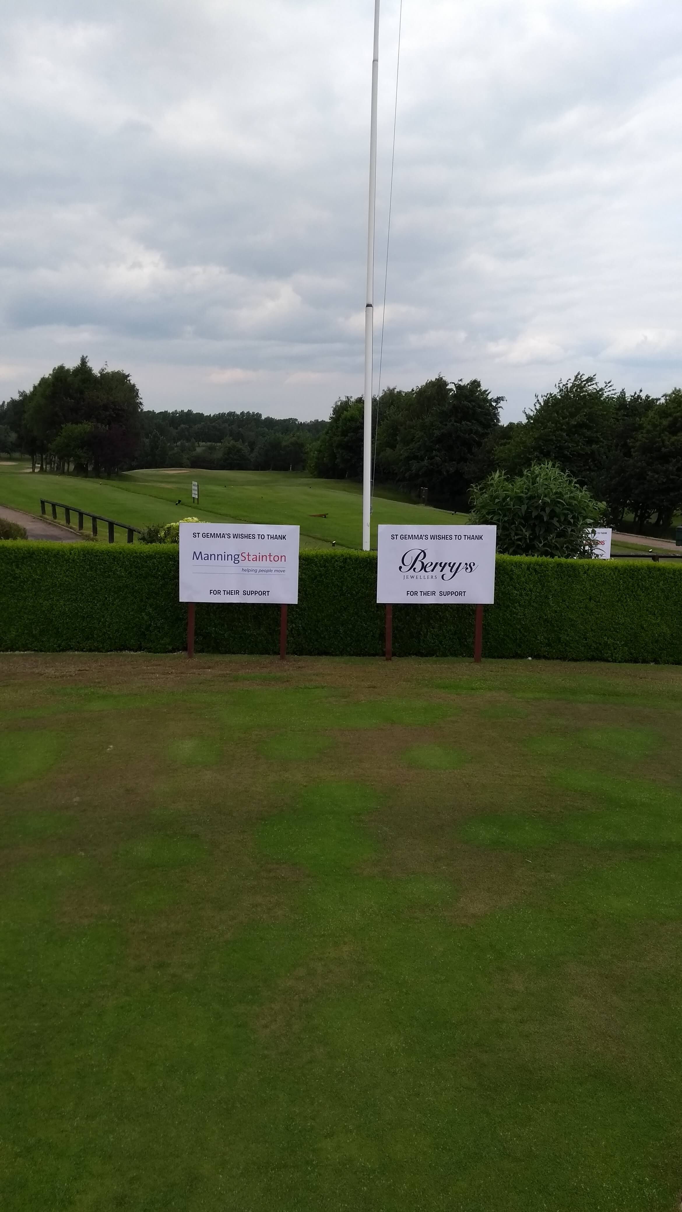 Manning Stainton and Berry's Hole Sponsor